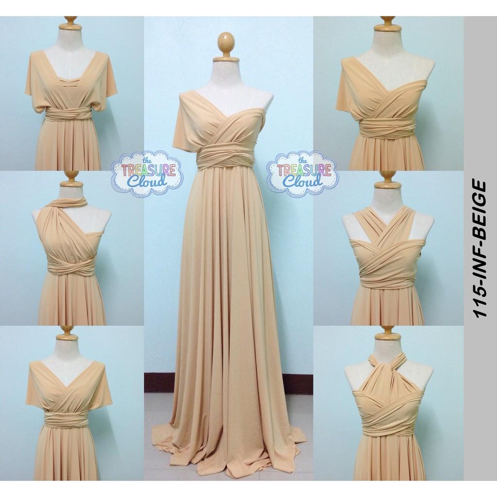 Beige Infinity Dresses Bridesmaid Dresses Shopee Philippines,Fashion Dresses Civil Ceremony Civil Wedding Dress Ideas