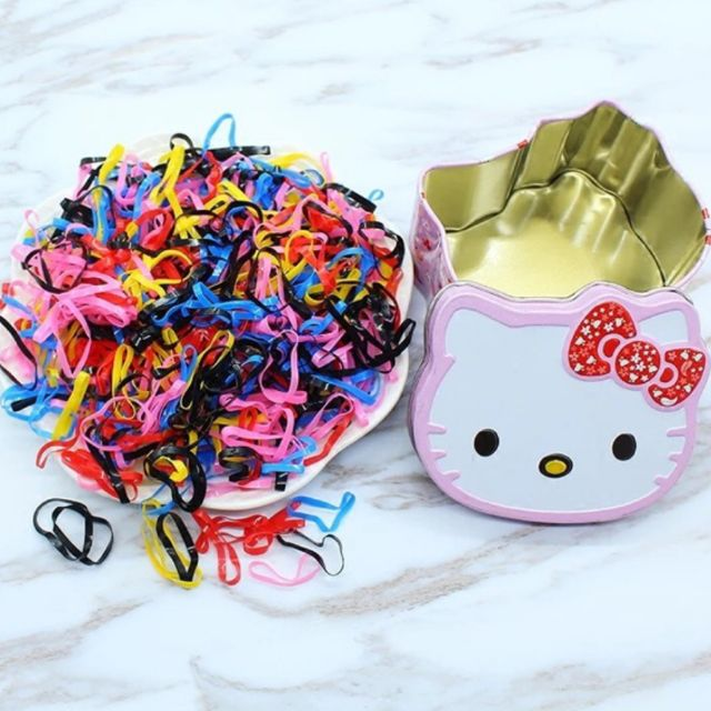 Sanrio in a Hello Kitty Case Hair Pony 700pcs9  c223a7646e3