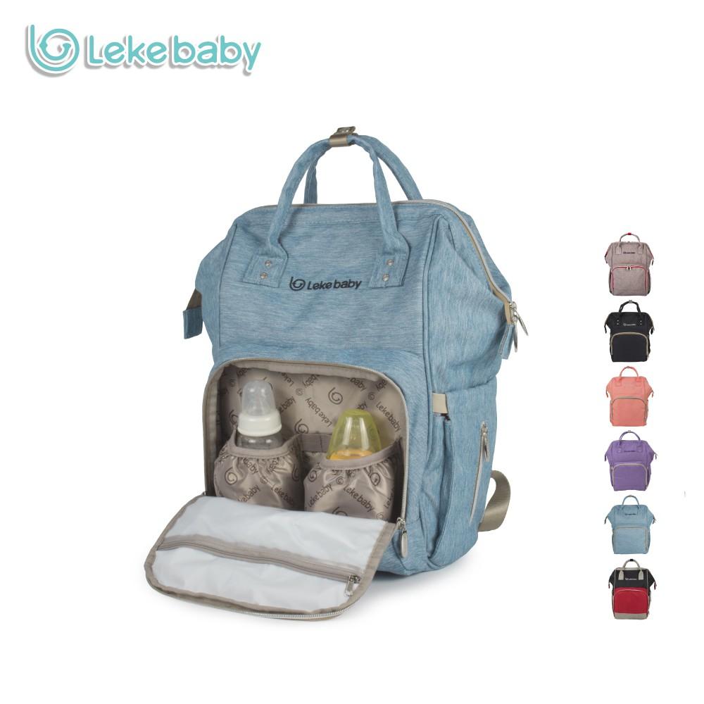 330f3597db Lekebaby Mummy Chaning Nappy Bag Nursing Diaper Backpack