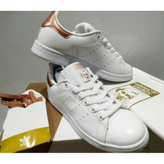 photos officielles 17535 16a6b Adidas Stan Smith Rosegold for women(OEM)