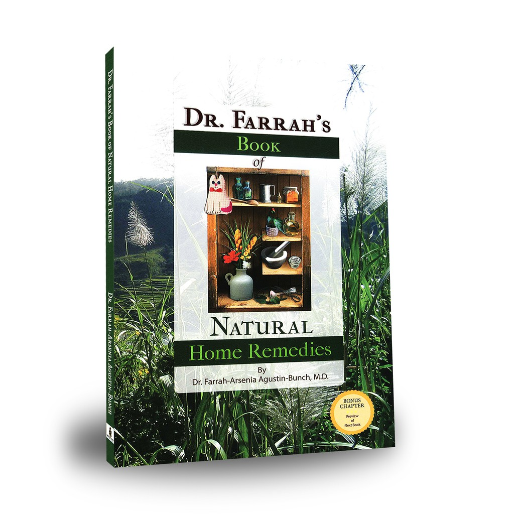 AUTHENTIC Dr  Farrah's Book of Natural Home Remedies by Dr   Farrah-Arsenia-Bunch, M D