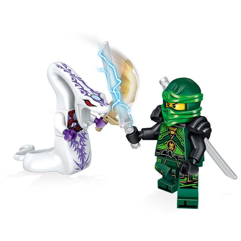 48Stk Ninjago Mini Figuren Set Wu Master//Jay//Kai//Sensei Building Blocks Toys DE
