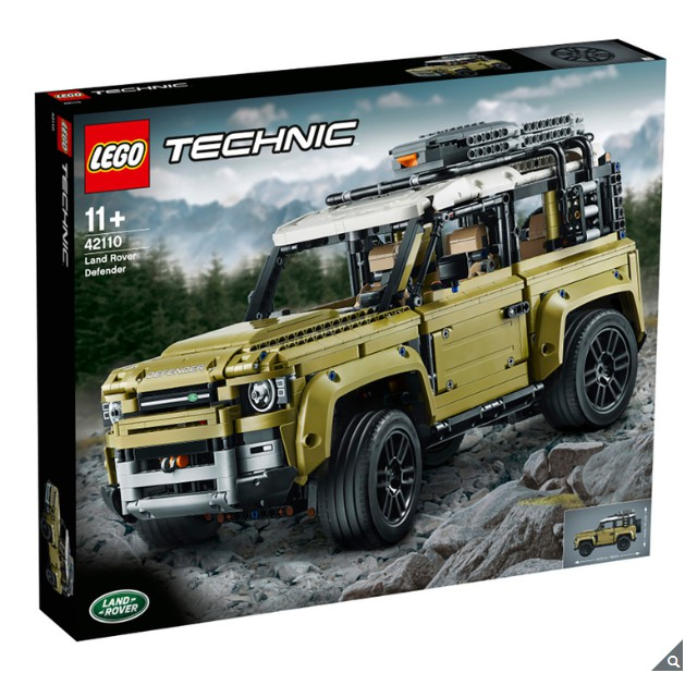 Lego Technic Land Rover Defender Shopee Philippines
