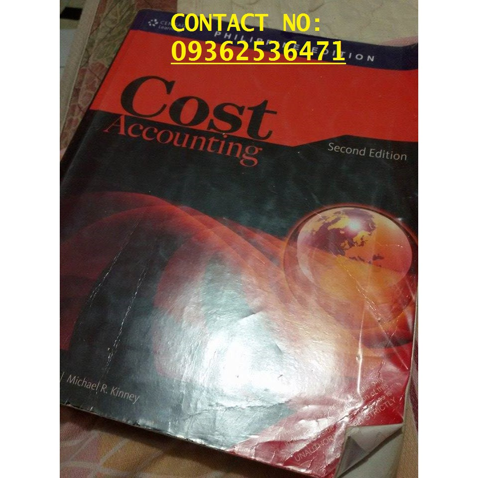 cost accounting solution manual shopee philippines