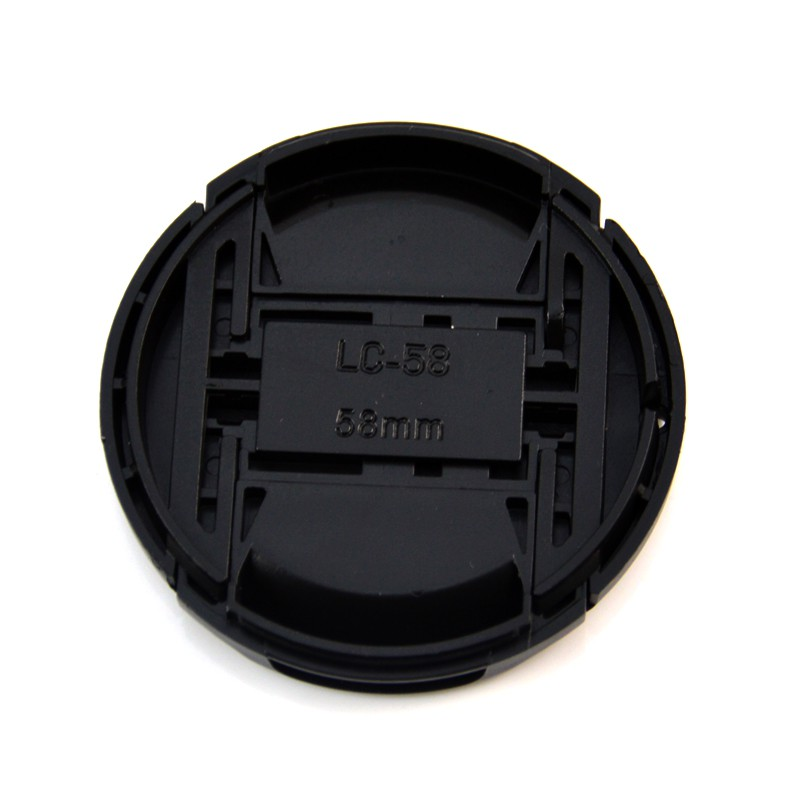 LC-58 Centre Pinch lens cap for Nikon Lenses fit 58mm filter thread