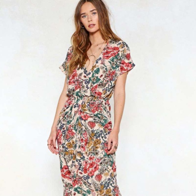 bangkok dress flora dress casual dress | Shopee Philippines
