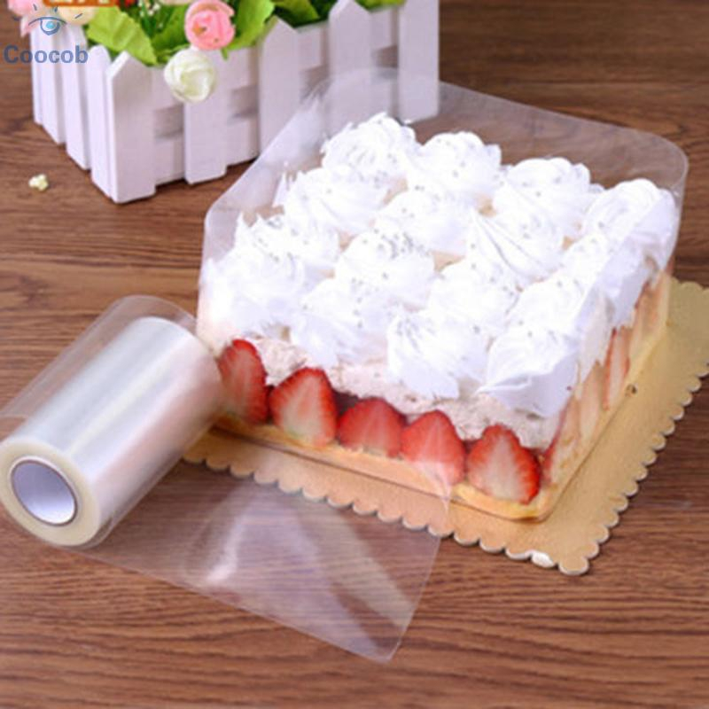 Transparent Cake Collar Surround Film Oil Resistance Cakes Pastry Baking Tools