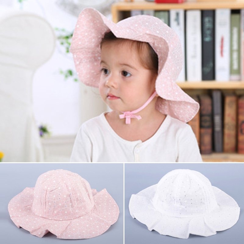 Floppy Top Childrens Hat Pink One Size
