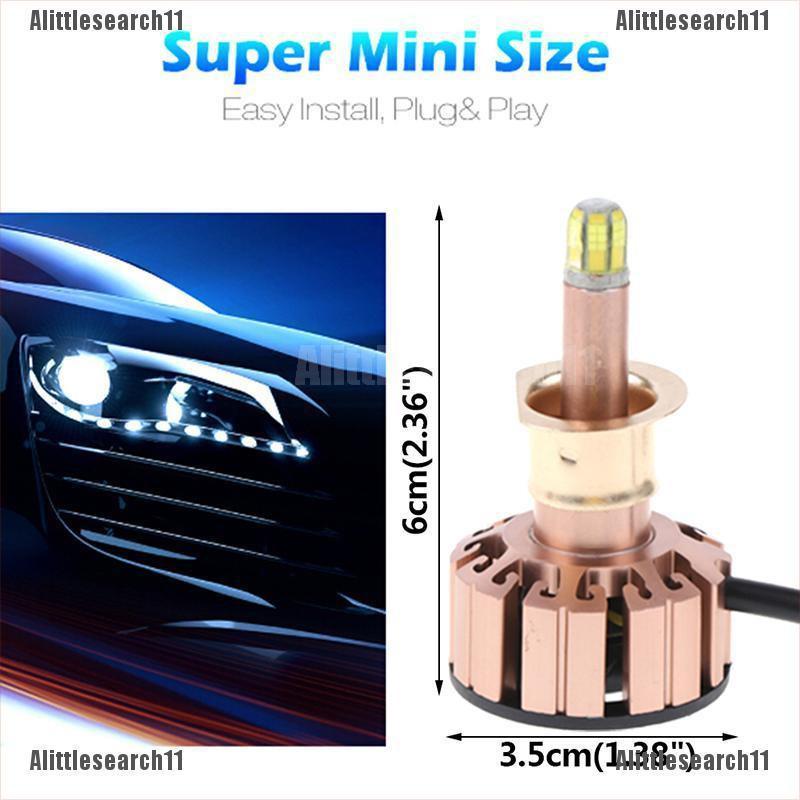 2x H1 Super White 12V CREE LED Headlight High Beam Low Beam Light SMD Bulbs