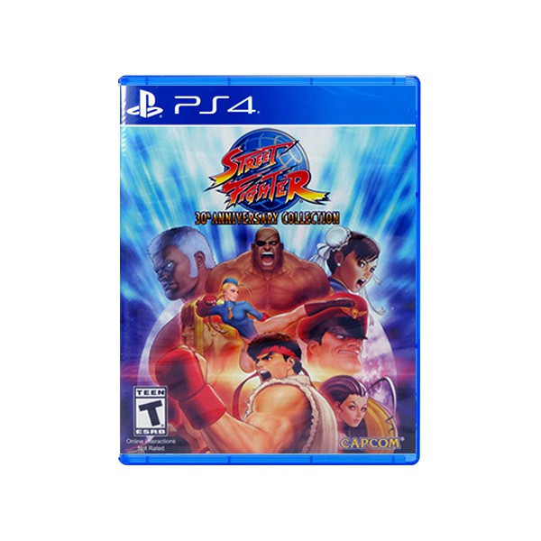 Playstation Ps4 Street Fighter 30th Anniversary Collection R1