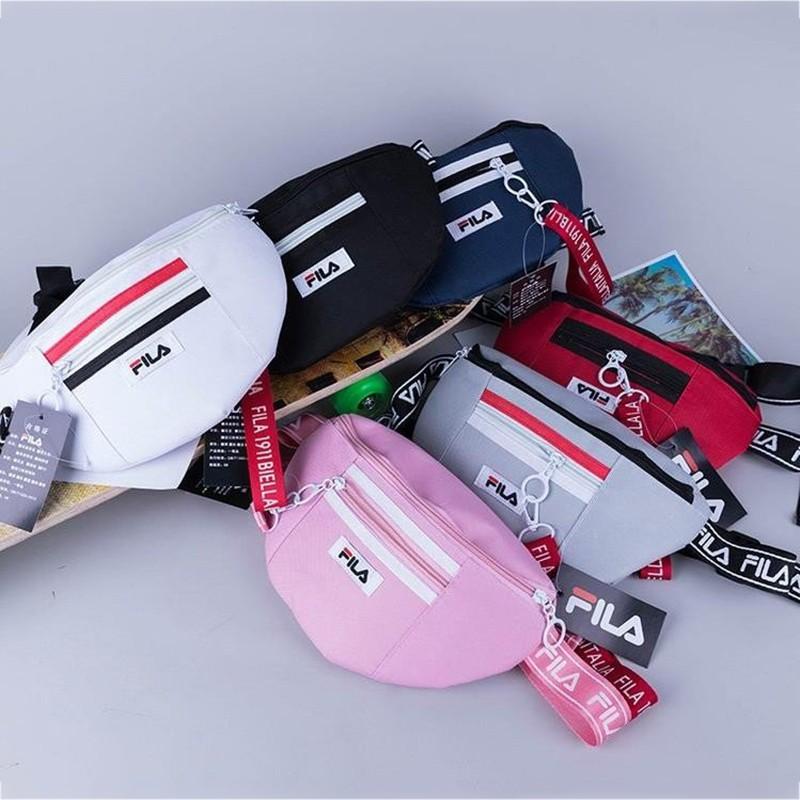 później tanio na sprzedaż niska cena Fila Fashion Chest Bag Porter Waist Pouch Bag Sling Bag Cross Bag