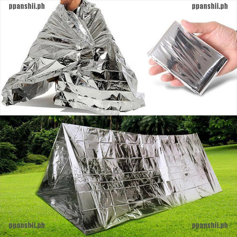 Camouflage Waterproof Foil Emergency Survival Blanket Thermal Rescue Blan IY