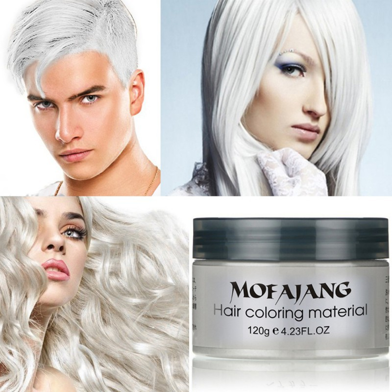 Mofajang Temporary Hair Color Wax Shopee Philippines