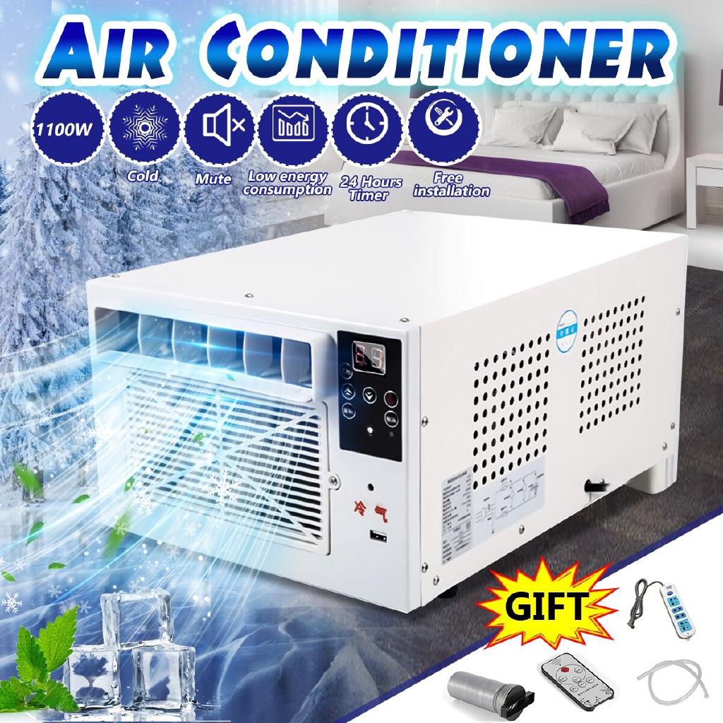 1100w Desktop Air Conditioner Cold  Heat Dual Use 220v  Ac