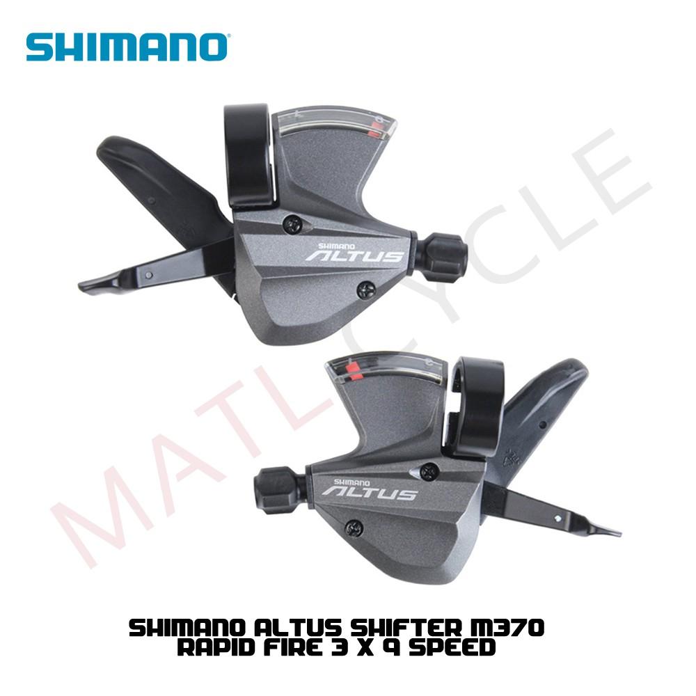 Mountain Bike SHIMANO ALTUS M370 Shifter 3 x 9 Speed
