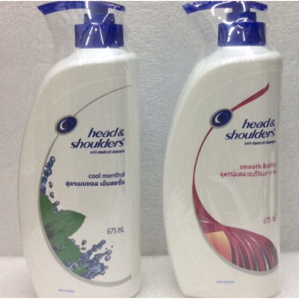 Head Shoulders Smooth Silky Shampoo 330ml Shopee Philippines Ampamp Shoulder Sampo Cool Menthol 330 Ml