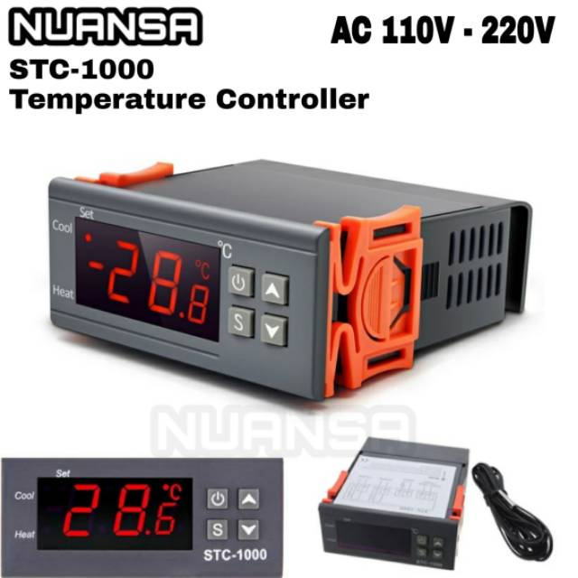 220v Digital Stc 1000 Temperature Controller Incubator Thermostat Ac 220v  Cooling Egg Warmer   Shopee Philippines