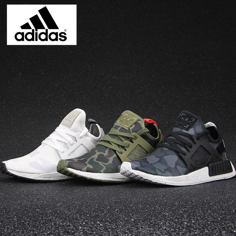 finest selection 3cfac 50022 4color Original Adidas NMD XR1 Camo Sneakers sport shoes