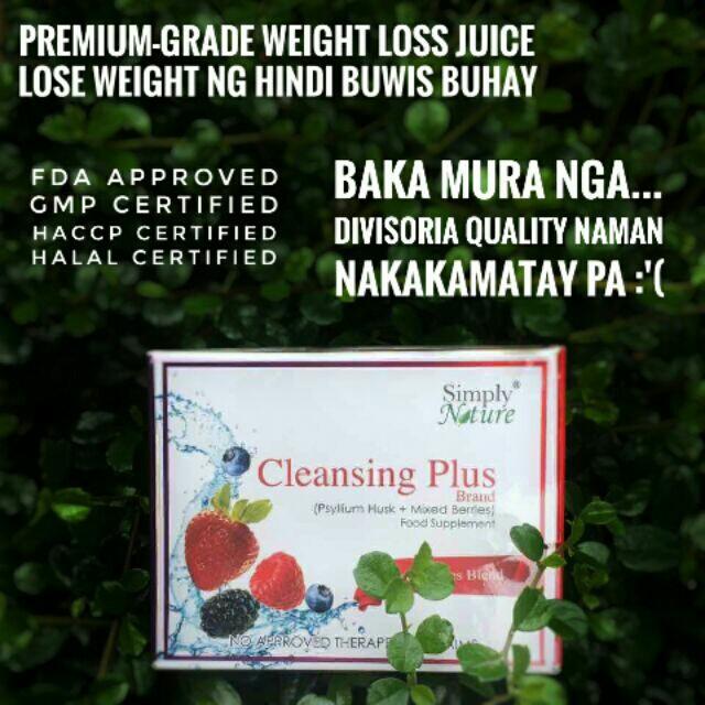 Cleansing Plus & Cleanze Juice Premium Slimming Detox Juice