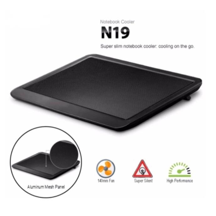 27a16d56291b N19 USB LED Light Super Slim Notebook Laptop Cooling Cooler