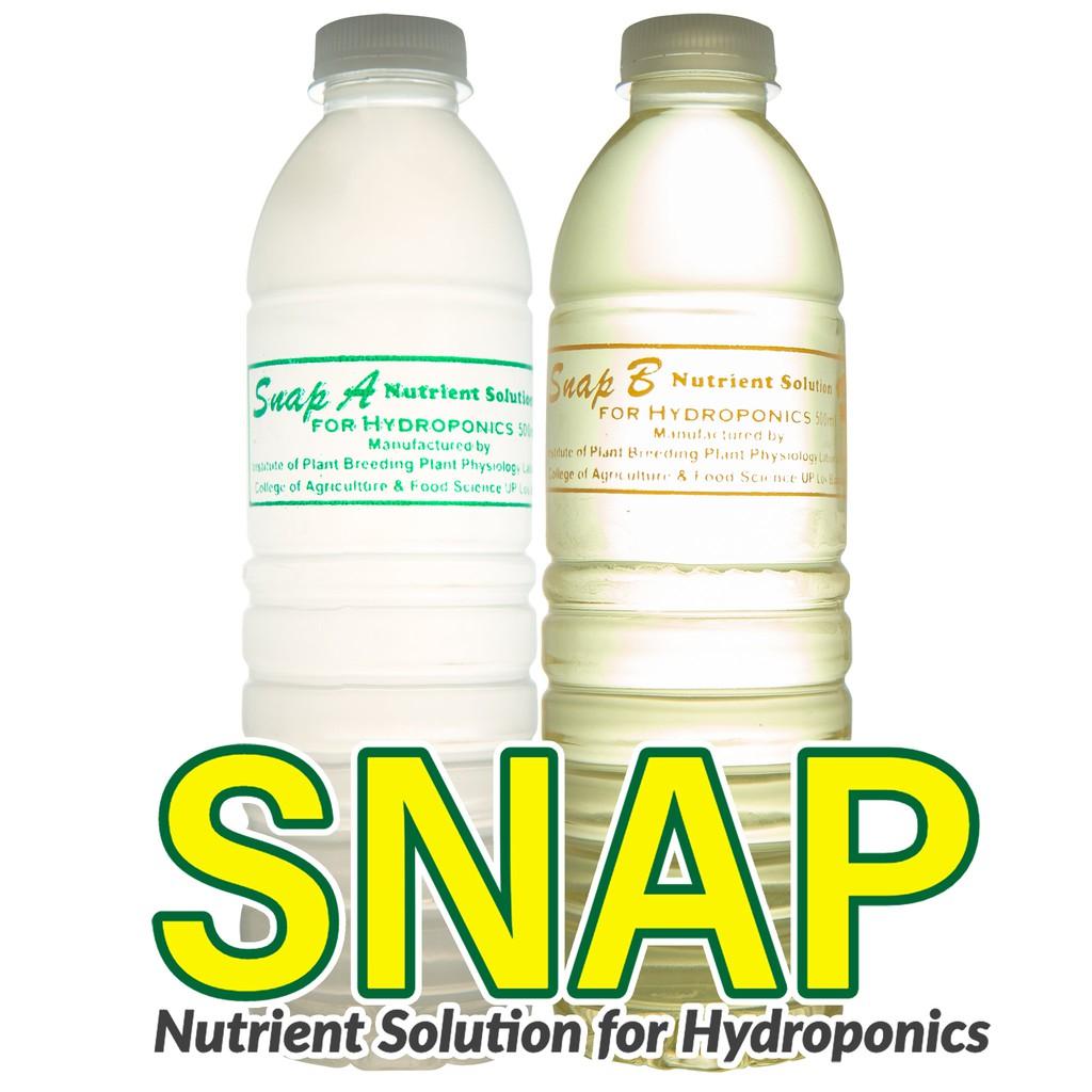 SNAP Hydroponics Nutrient Solution for Hydroponics Gardening