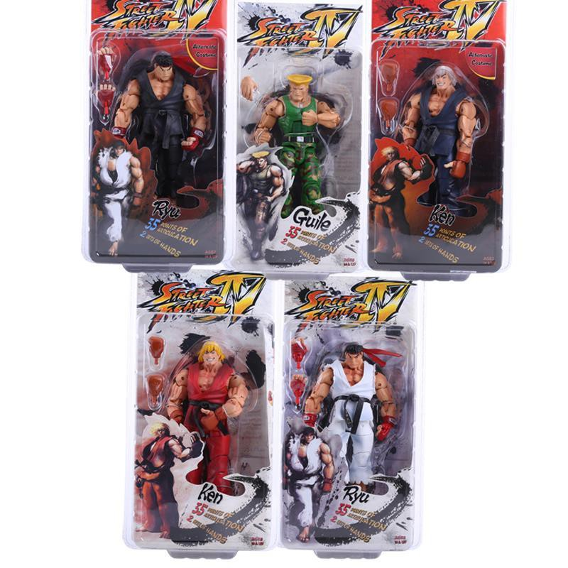 Street Fighter Ken And Ryu Action Figure Neca Shopee Philippines