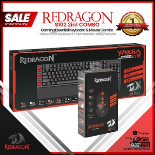 Redragon K552-BB 4in1 Set Keyboard/Mouse/MousePad/Headset