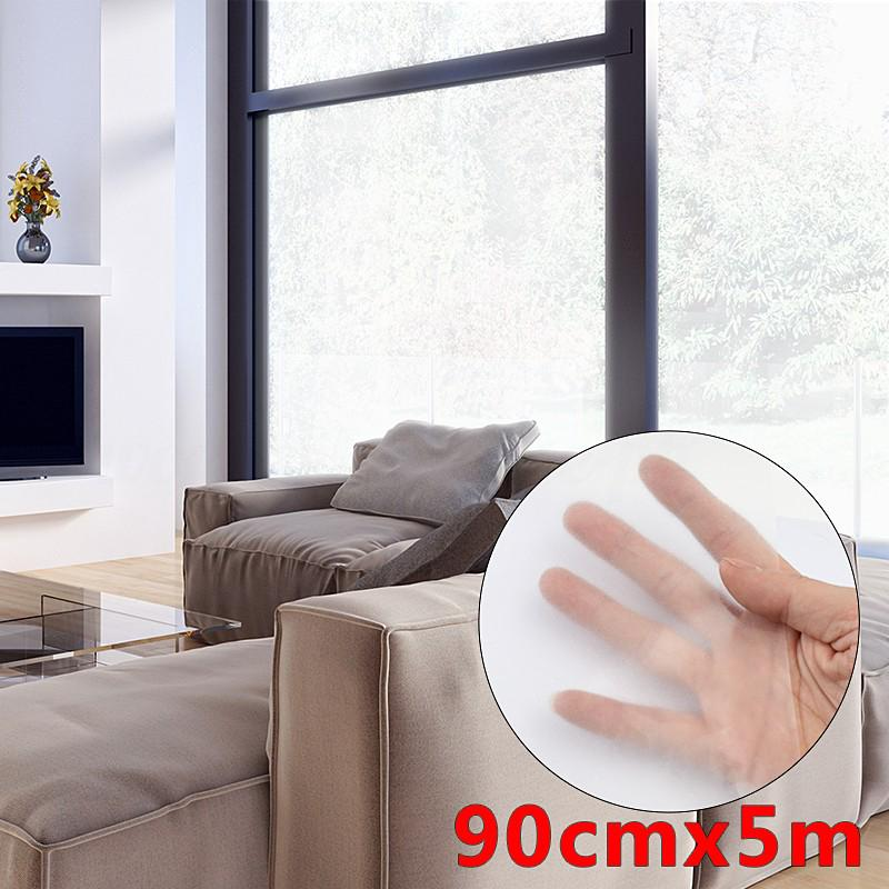 Frosted Window Tint Glass Privacy Pvc Film Sticker For Diy