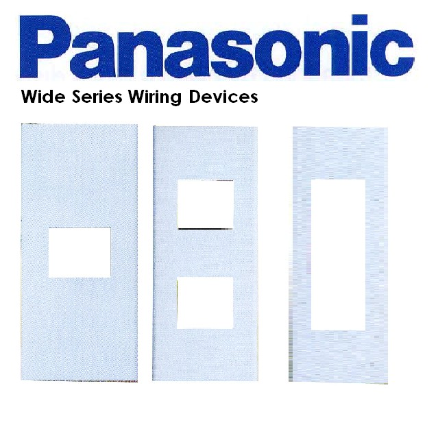 Incredible Panasonic Wide Series Wiring Device Plate Color White Shopee Wiring 101 Akebretraxxcnl