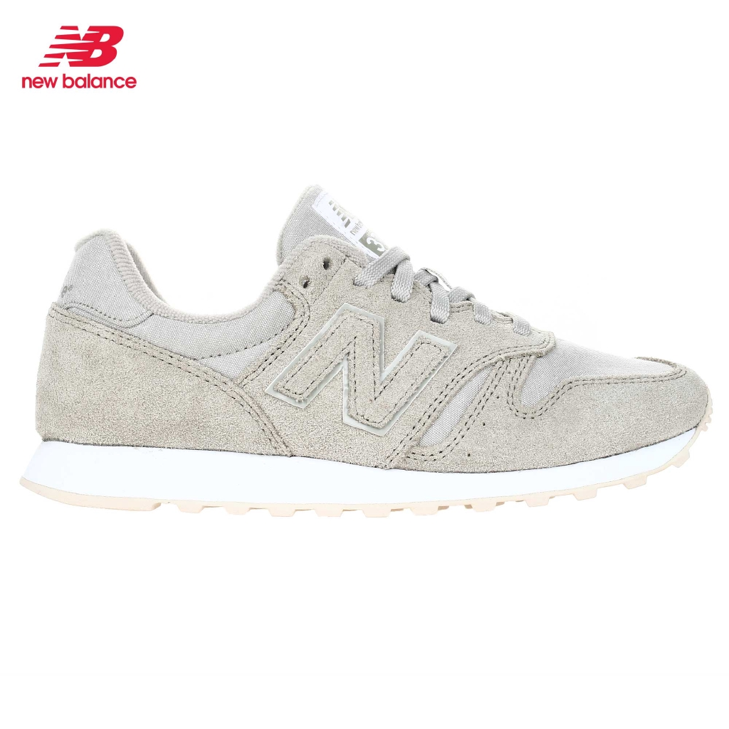 New Balance 373 Classics Lifestyle Casual Rubber Shoes for Women (Stone Grey 069)
