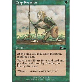 Crop Rotation NM MTG Urza/'s Legacy