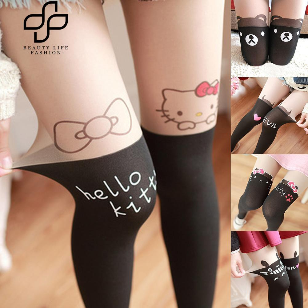 4d4b9ec95 Beauty Girls Gradient Ombre Velvet Stockings Footed Tights