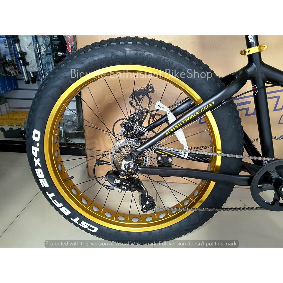 2018 Trinx T106 Mechanical Alloy Fat Bike Bicycle Fatbike Shopee