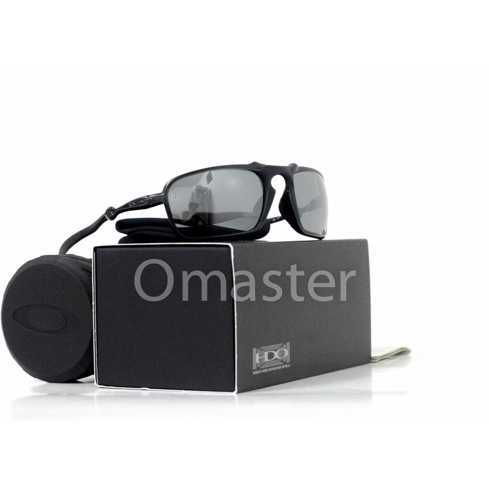 3377adae14 New Oakley Badman Dark Carbon w  Black Polarized Lens