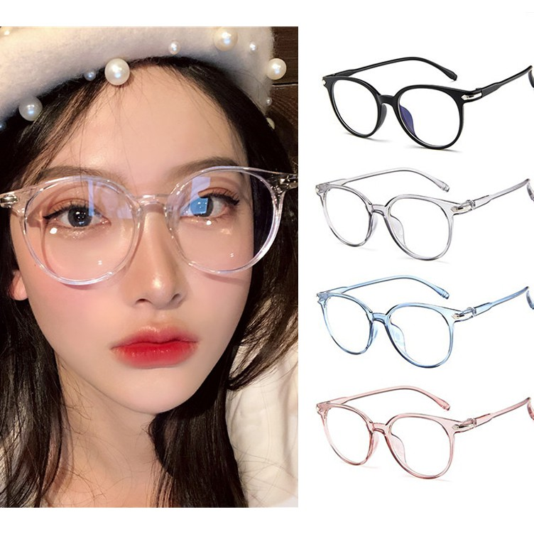 Fashion Anti-Radiation Eyeglasses Transparent Retro