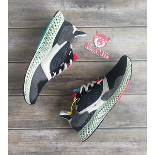 adidas Consortium ZX 4000 Grey One Core Black Bright Cyan