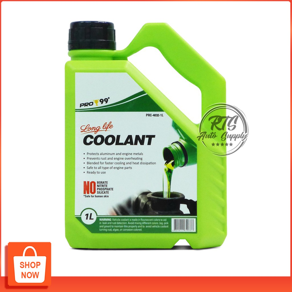 PRO 99 Long Life Coolant Green Ready-to-use