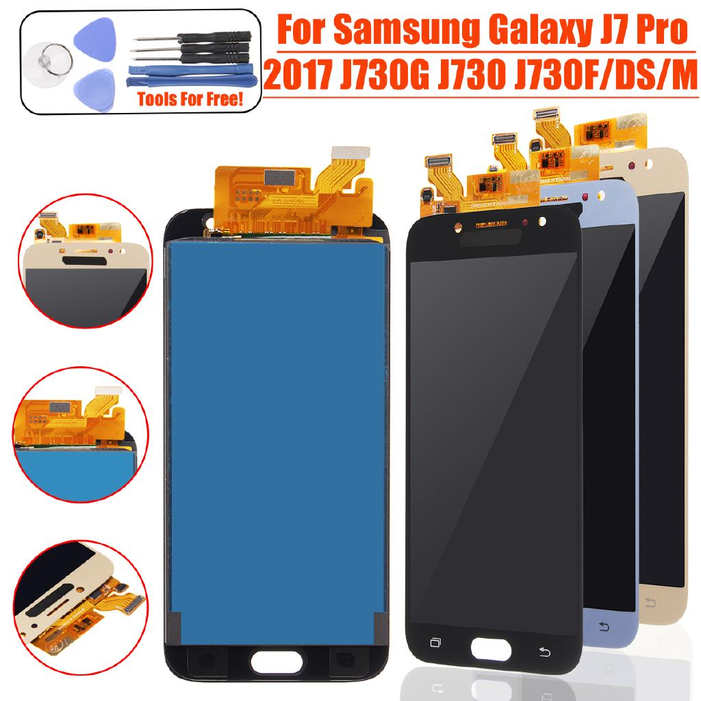 Display For SAMSUNG Galaxy J7 Pro LCD Touch Screen J730 LCD | Shopee