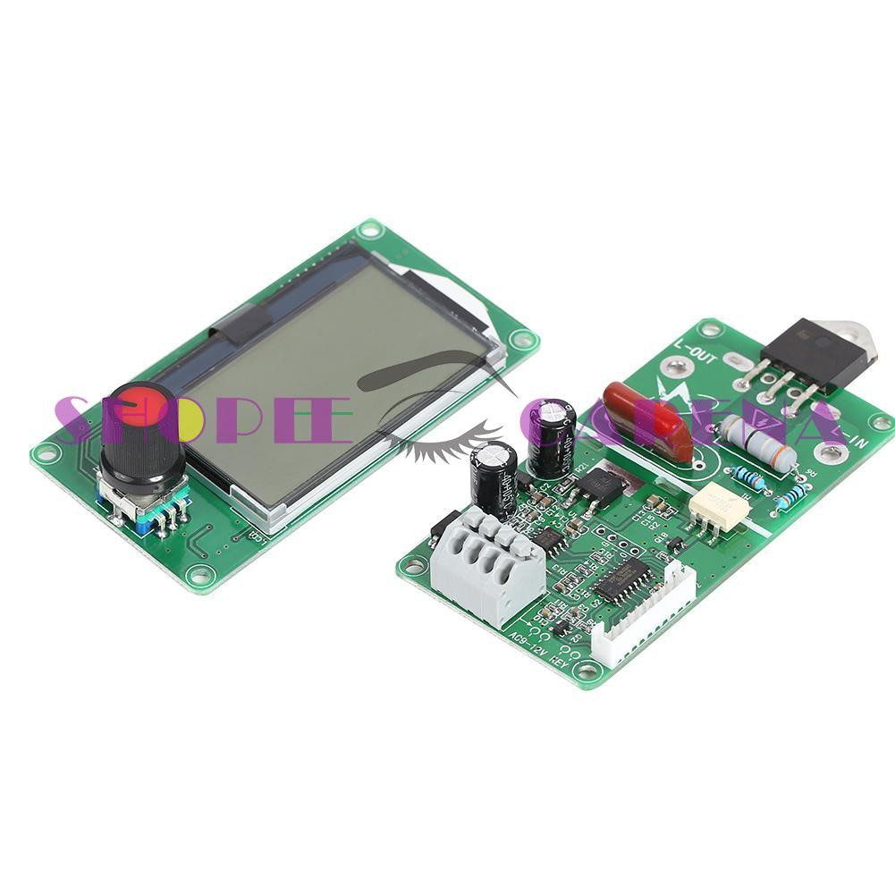 LCD Display Digital Double Pulse Encoder Spot Welder Controller Board