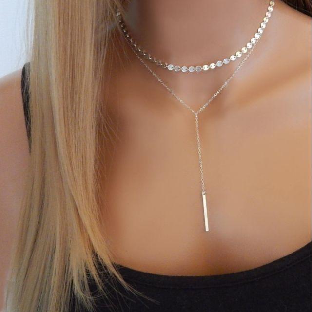 Elegant Cute Love Short Necklace Simple Women Jewelry Girl