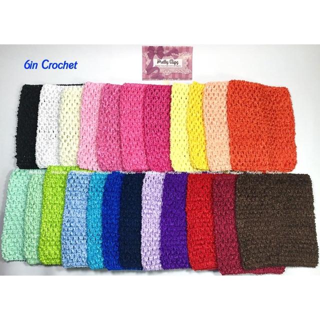 6in Tutu Top Elastic Crochet Top Shopee Philippines