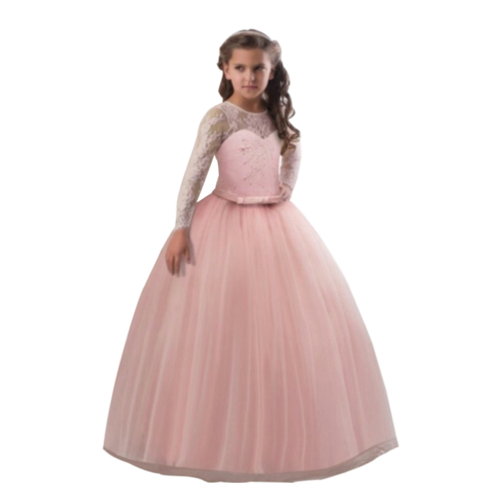 Kids Bridesmaid Girls Dress For Wedding Party Dresses Evening Christmas Girl Long Costume Princess Shopee Philippines,Jc Penny Jcpenney Wedding Dresses