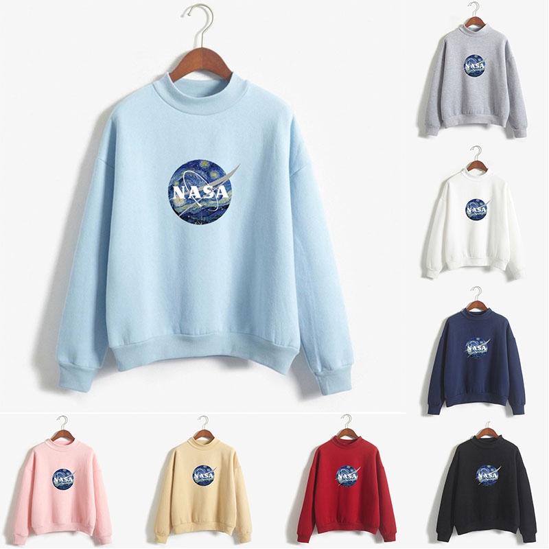 Astronaut Moon Space Unisex Kids Cotton Fleeces Cartoon Long Sleeve Outerwear