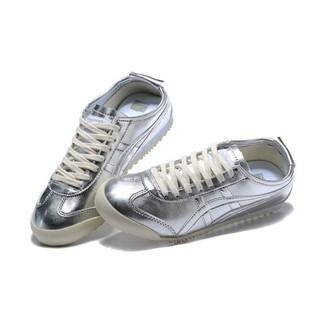 quality design c8f45 cd1c4 ASICS ONITSUKA tiger running shoes silver