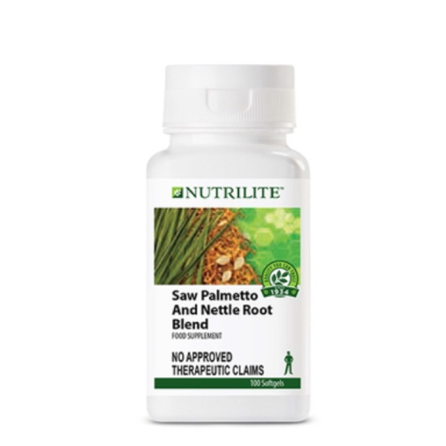 NUTRILITE™ Saw Palmetto and Nettle Root Blend Softgel Caps