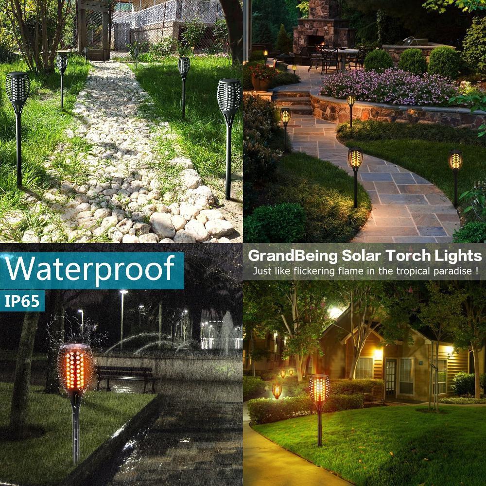 Outdoor Lights Solar Garden Path