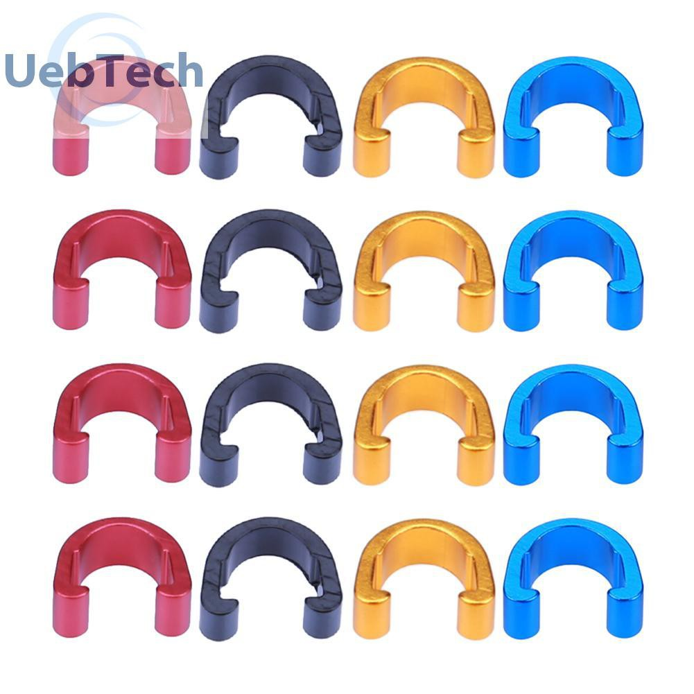 MTB Bicycle C Hose Clips 10pcs Road Bike Outer Brake Gear Cable Protector