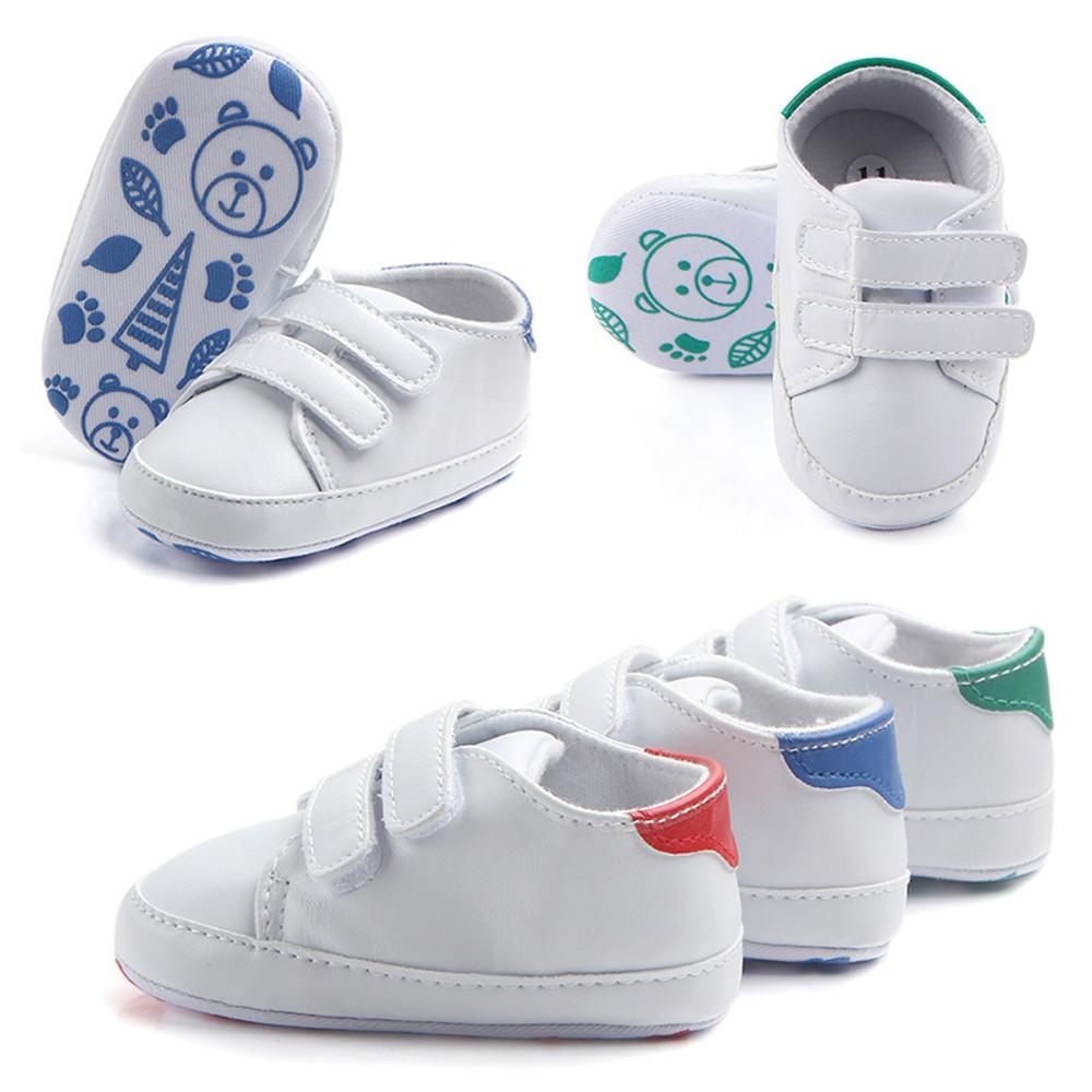 Infant Toddler Baby Boy Girl Kids Soft Sole Crib Shoes Sneaker Newborn Prewalker