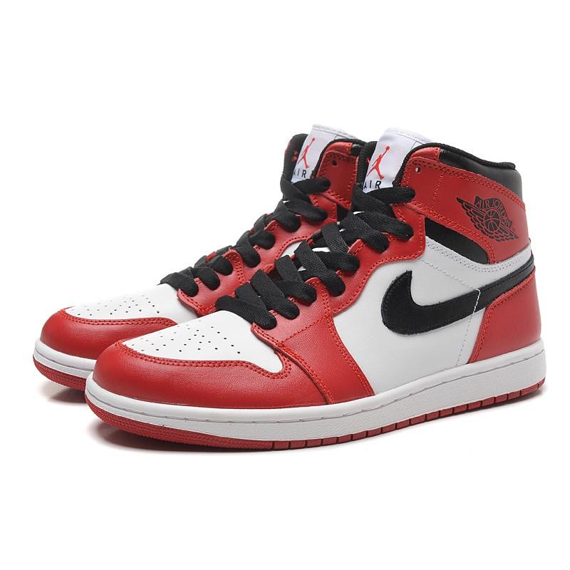 air jordan 1 red white and black