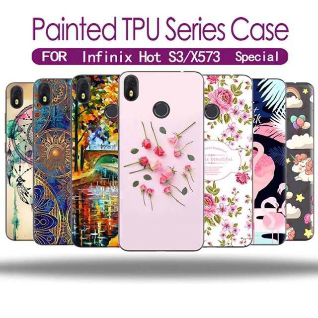 Infinix Hot S3 / X573 Painted TPU Silicone Case